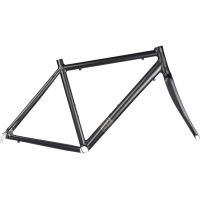 "Brand-X RD-01 - Road Frame and Carbon Fork 2019 Black 58cm (22.75"")"
