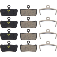 Nukeproof Avid SRAM X0 Trail Guide Brake Pads Black Organic