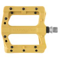 Nukeproof Neutron EVO Flat Pedals Mustard