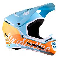 SixSixOne Reset MIPS Helmet Geo Blorange XXL