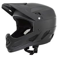 Brand-X DH1 Full Face MTB Cycling Helmet Black M-L 53-58cm