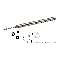 Brand-X Ascend Dropper Replacement Cartridge Silver 105mm Ascend II External