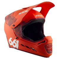 SixSixOne Reset MIPS Helmet Digi Orange XL