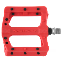 Nukeproof Neutron EVO Flat Pedals Red