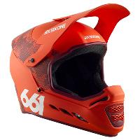 SixSixOne Reset MIPS Helmet Digi Orange M