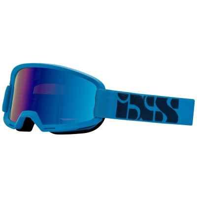 IXS Hack Goggle 2019 Racing Blue- Mirror Cobalt