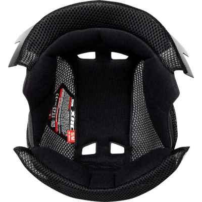 IXS XACT Helmet Head Lining 2020 Black M-L