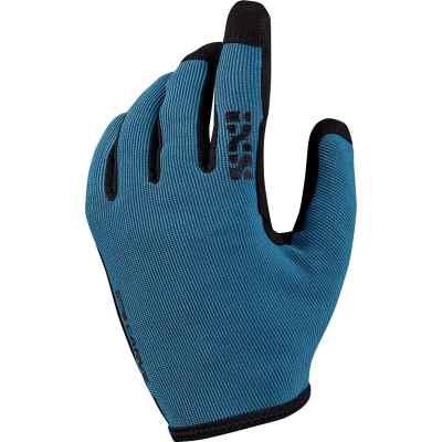 IXS Carve Gloves Fluo  Ocean XL