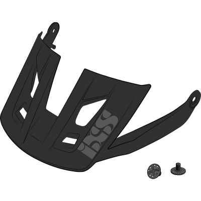 XS Trigger AM Helmet Visor + Pins Black S-M
