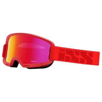 IXS Hack Goggle 2019 Racing Red- Mirror Crimson