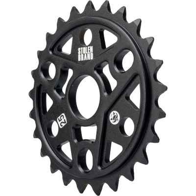 Stolen Sumo III BMX Sprocket W-Thermalite Guard Black 25t