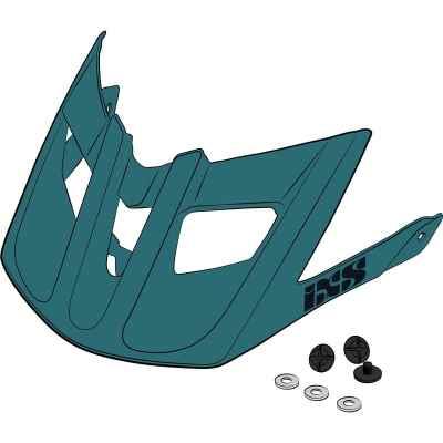 IXS Trail EVO Helmet Visor + Pins Lagone One Size