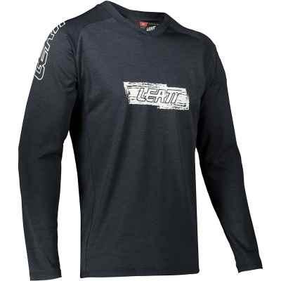 Leatt MTB 2.0 Long Sleeve Jersey 2021 Black XS