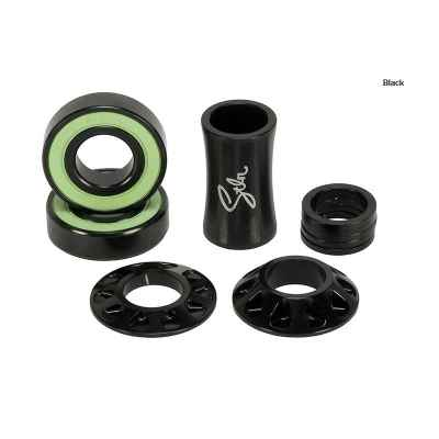 Stolen Revolver Mid Bottom Bracket Black 19mm