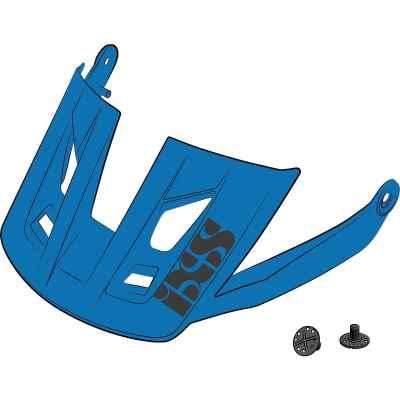 IXS Trigger AM Helmet Visor + Pins Fluo Blue M-L