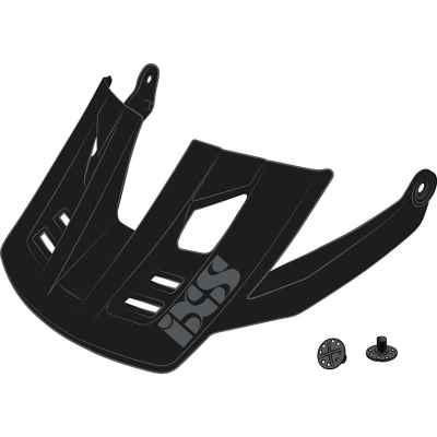 IXS Trigger FF Helmet Visor + Pins 2020 Black M-L
