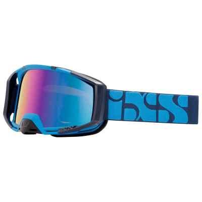 IXS Trigger Goggle 2019 Racing Blue-Mirror Cobalt