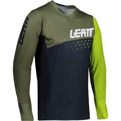 Leatt MTB 4.0 UltraWeld Jersey 2021 Cactus XL