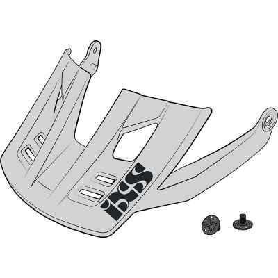 IXS Trigger FF Helmet Visor + Pins 2020 White S-M