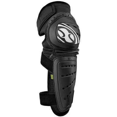 IXS Mallet Knee-Shin Guards Black S