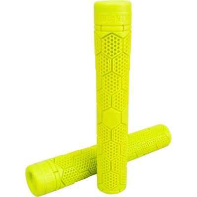 Stolen Hive Flangeless Grips Neon Yellow