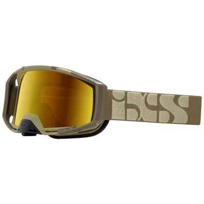 IXS Trigger Goggle 2019 Camel-Mirror Gold