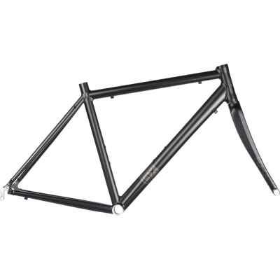 "Brand-X RD-01 - Road Frame and Carbon Fork 2019 Black 58cm (22.75"")"