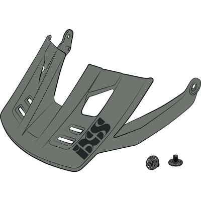 IXS Trigger FF Helmet Visor + Pins 2020 Graphite S-M