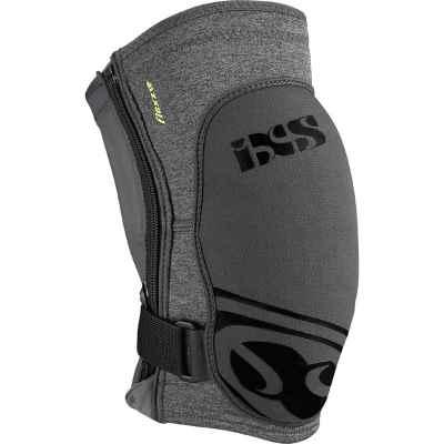 IXS Flow Zip Knee Guard Grey XXL