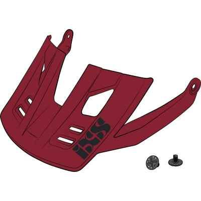 IXS Trigger AM Helmet Visor + Pins Night Red S-M