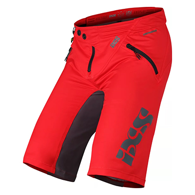 IXS Trigger Shorts Red-Graphite M