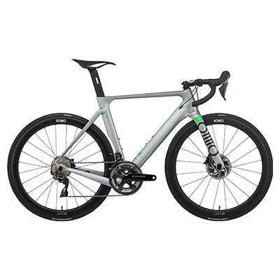 Rondo HVRT CF 0 Road Bike 2021 Pewter - Lime M 700c