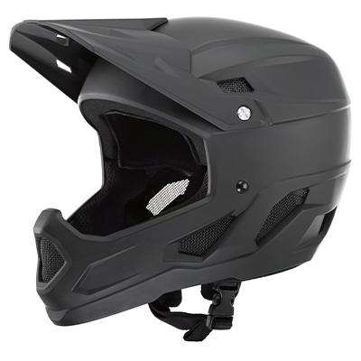 Brand-X DH1 Full Face MTB Cycling Helmet Black M-L 53-58cm