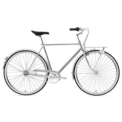 "Creme Echo Uno Bike 2019 Obsidian 55.3cm (21.5"") 700c"