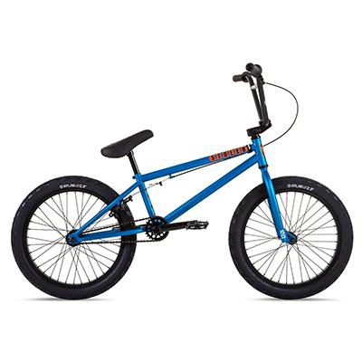 """Stolen Casino 20"""" BMX Bike 2021 Matte Metallic Blue"""