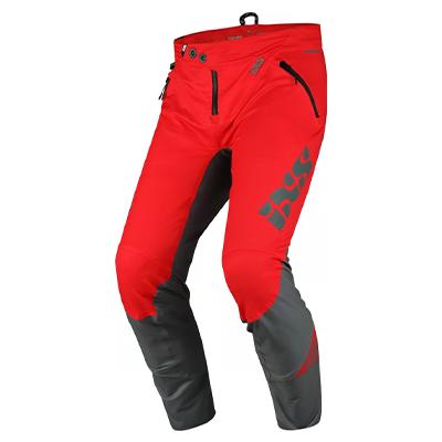IXS Trigger Pants Red-Graphite XXL