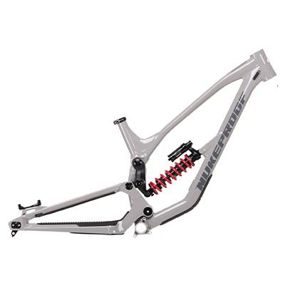 Nukeproof Dissent 290 Alloy Mountain Bike Frame 2021 Concrete Grey XL