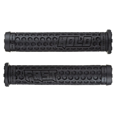 NS Bikes Hold Fast Unlocked Grips Blue Black