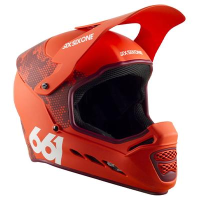 SixSixOne Reset MIPS Helmet Digi Orange XXL