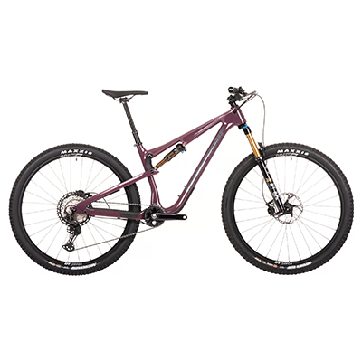 Nukeproof Reactor 290 ST Factory Carbon Bike (XT) 2021 Depressed Aubergine XL 29""