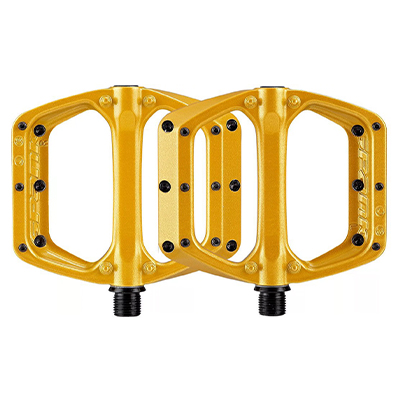Spank Spoon DC Pedals Gold