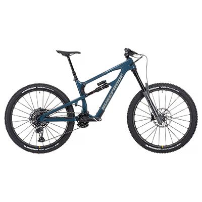 "Nukeproof Mega 275 RS Carbon Bike (X01 Eagle) 2021 Bottle Blue XL 27.5"""