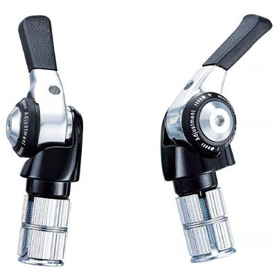 microSHIFT R9 2x9 Speed Bar End Shifter Set