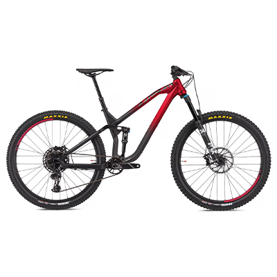 "NS Bikes Define AL 130 Suspension Bike 2020 Black - Red L 29"""