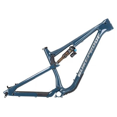Nukeproof Reactor 290 Carbon Mountain Bike Frame 2021 Bottle Blue L