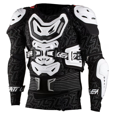 Leatt Body Protector 5.5 White XXL 184-196cm