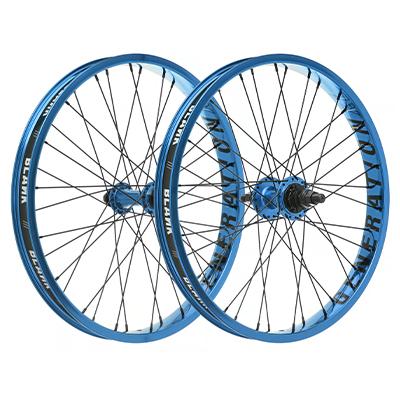 """Blank Generation XL BMX Wheelset Blue 20"""""""
