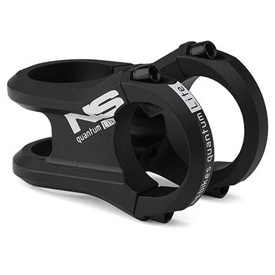 "NS Bikes Quantum Lite Stem Black 45mm 31.8mm 1.1-8"""