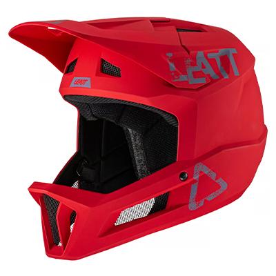 Leatt MTB 1.0 Helmet DH Junior 2021 Chilli 2XS