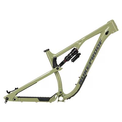 Nukeproof Reactor 290 Alloy Mountain Bike Frame 2021 Artichoke Green XL